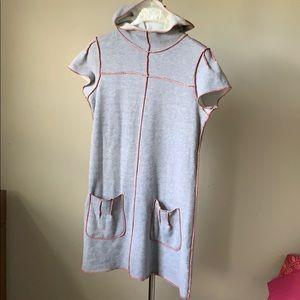 Cool handmade sweatshirt dress